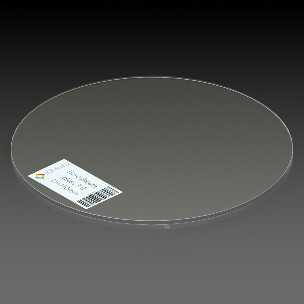 Borosilicate Glass  D Pronting